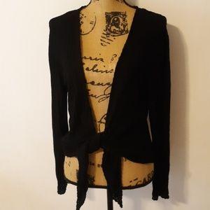 BOGO🛍Jones New York Rayon Blend Tie Cardigan L/XL